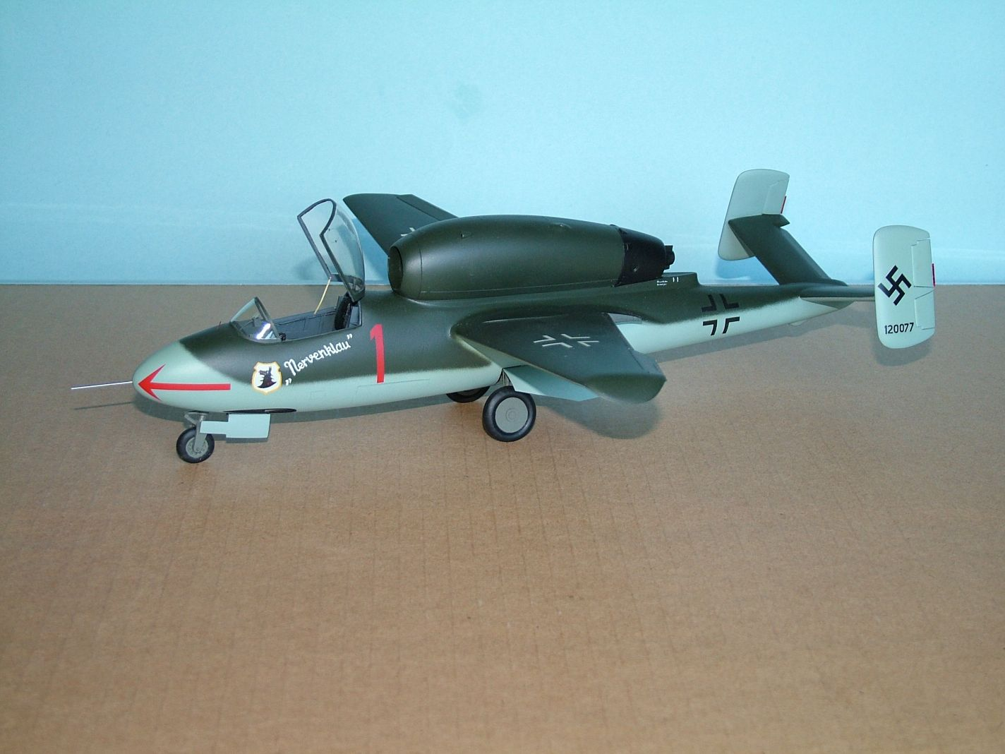 I.D. Models 1/32 He-162, Vacform