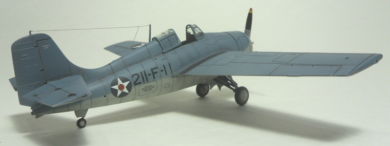 Hasegawa F4F-4 Modified to -3 Standards