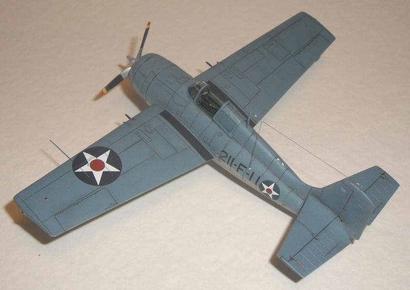 Hasegawa F4F-4 Modified to -3 Standards
